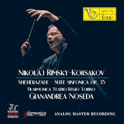 Shéhérazade, Suite sinfonica op. 35 by Nikolaj Rimsky-Korsakov ;   Filarmonica Teatro Regio Torino ,   Gianandrea Noseda