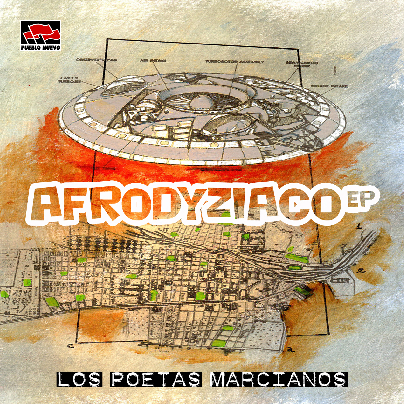 Poetas Marcianos – AFRODYZIACO EP
