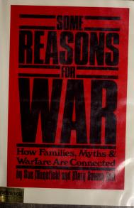 Cover of: Some reasons for war by Sue Mansfield